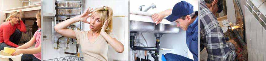 Various plumbers 24 hours, assisting clients.