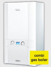 Ideal boiler, model Independent 24 Plus.